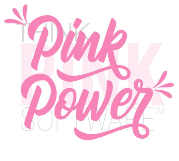 Pink Power Decal