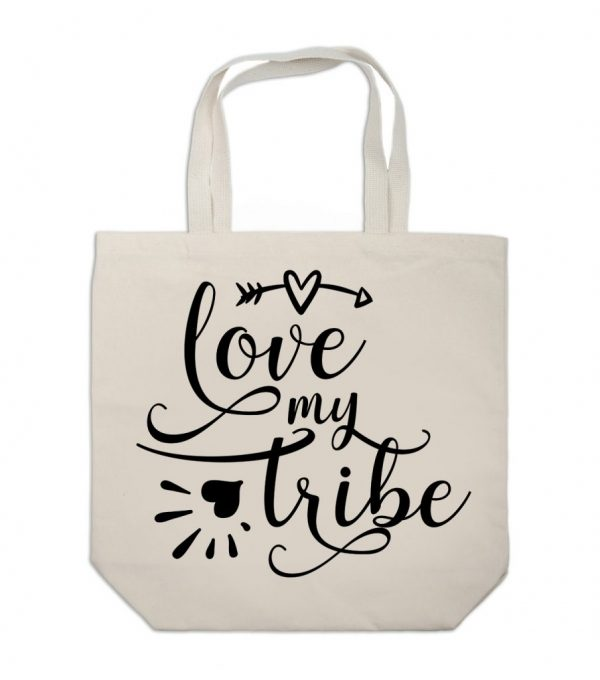 Love My Tribe Tote Bag