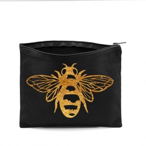 Queen Bee Makeup Bag