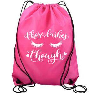 Those Lashes Nylon Backpack