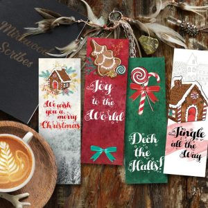 Holiday Bookmark (set of 4)