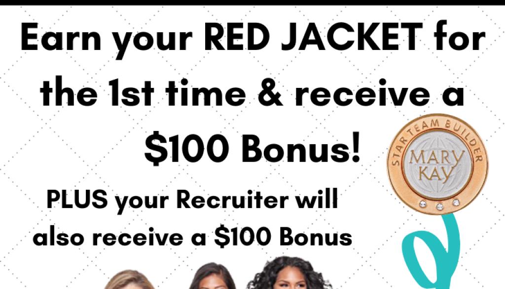 RED Jacket Bonus