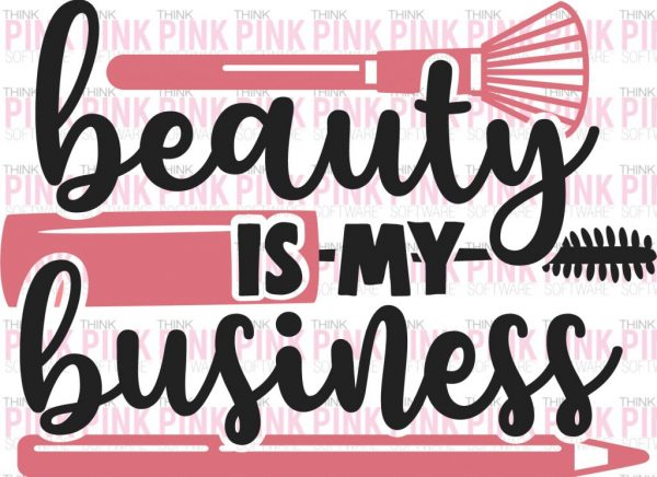 Beauty is My Business Car Decal
