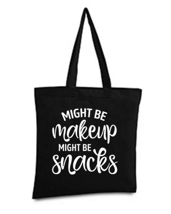 Makeup or Snacks Tote Bag