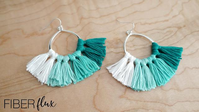 Tiny Tassel Earrings 1